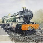 novus art steam train martin eeles