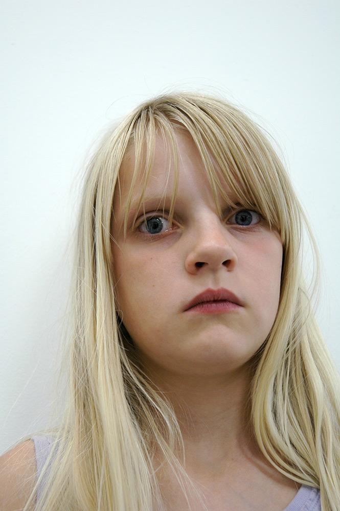 val carcary green portrait beth long blonde hair