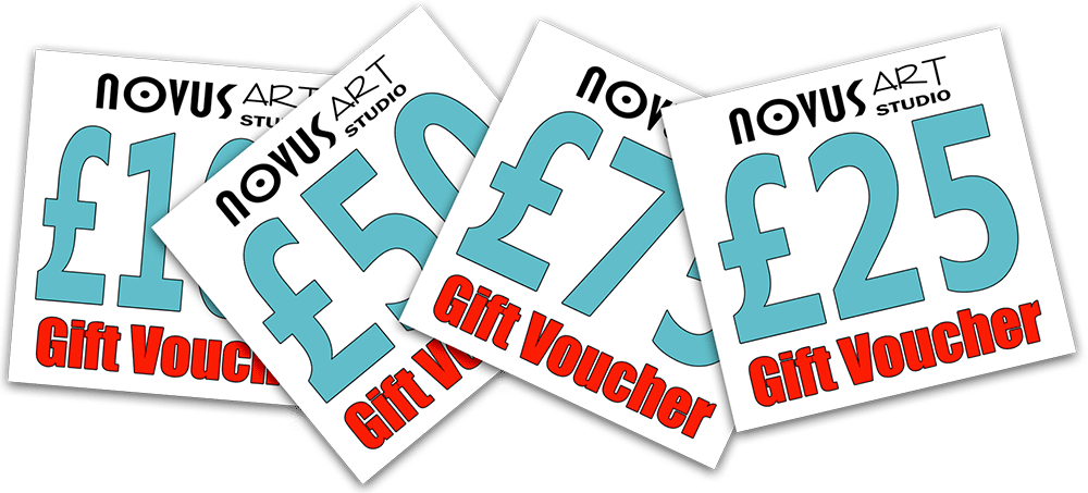 set of gift vouchers