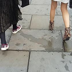 legas walking away