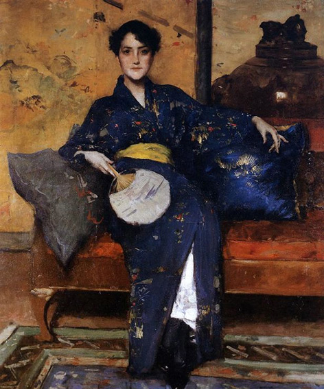 william merritt chase a comfortable corner