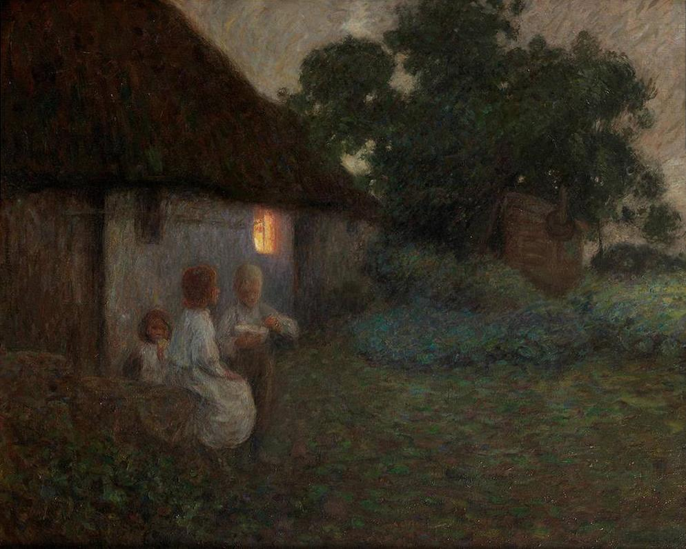 edward-stott-labourers-cottage-supper-time