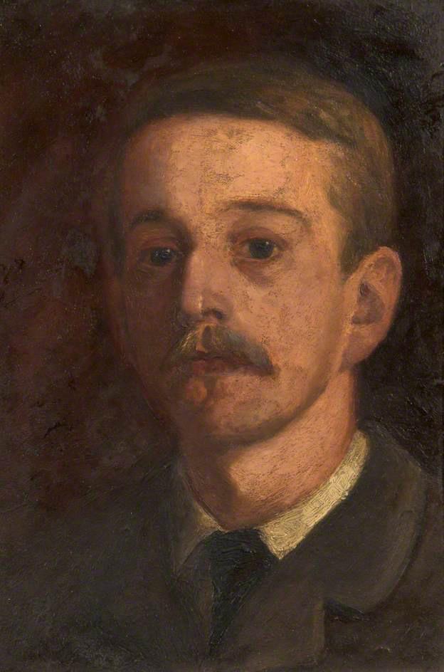edward-stott-self-portrait