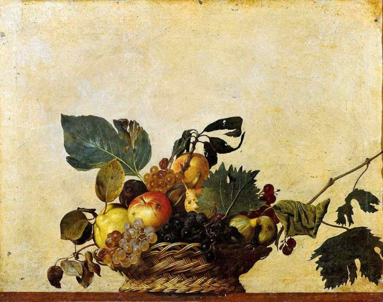 Caravaggio-Basket-of-Fruit