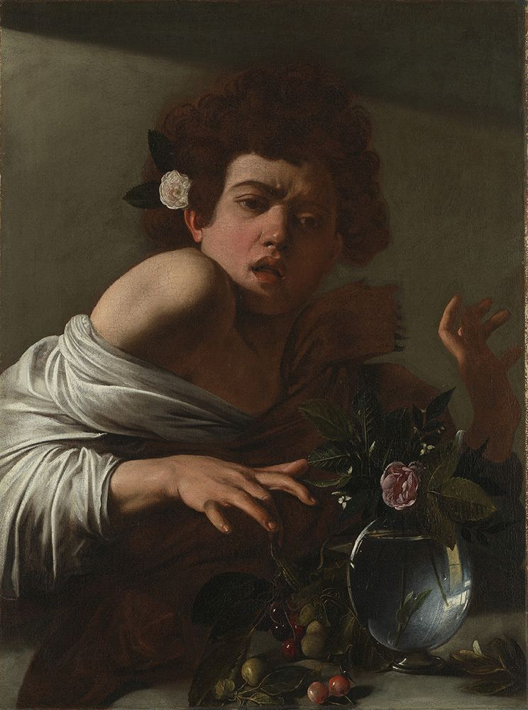 Caravaggio-Boy-Bitten-by-a-Lizard
