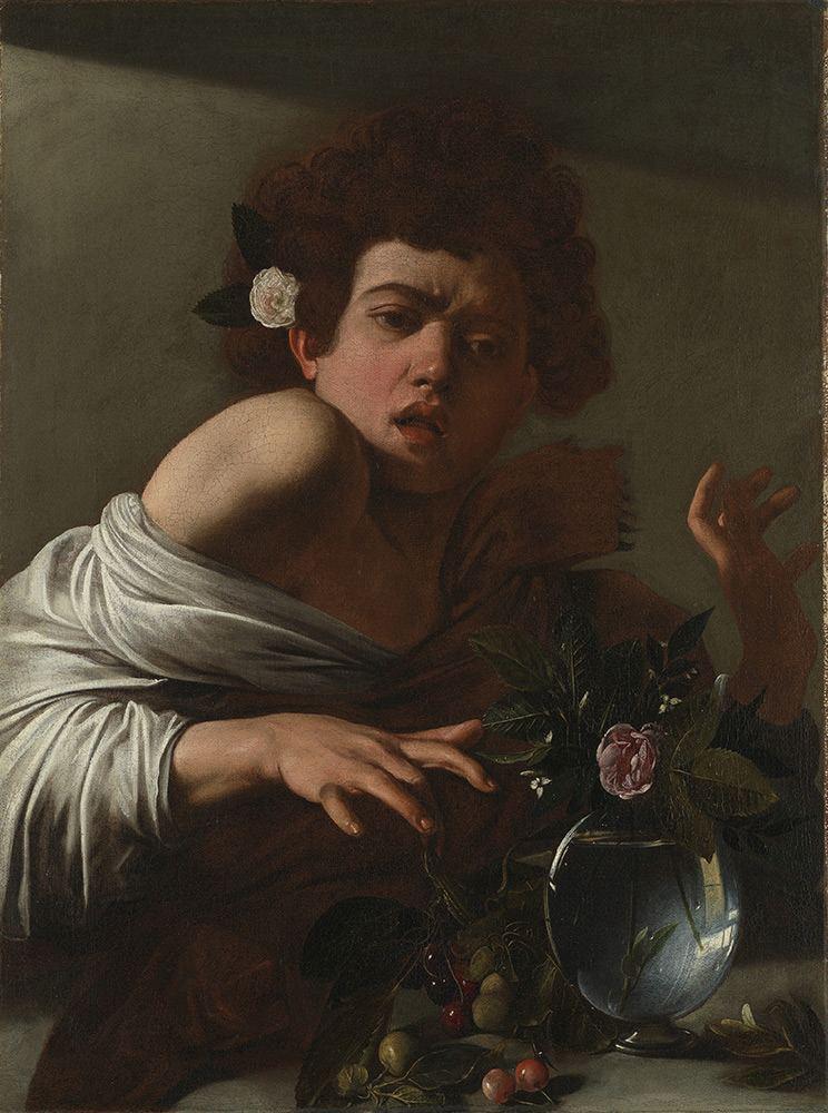 Caravaggio-Boy-Bitten-by-a-Lizard