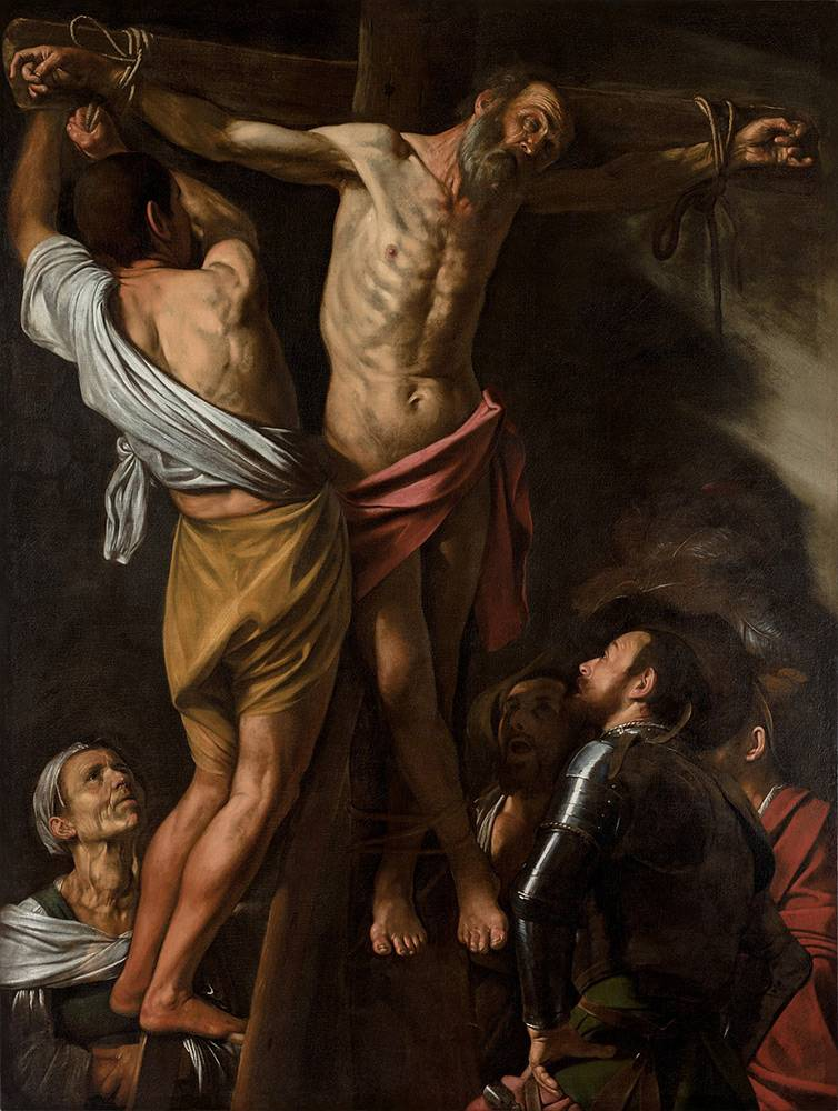 Caravaggio-The-Crucifixion-of-Saint-Andrew