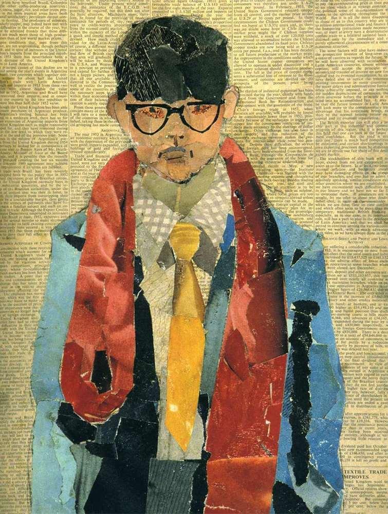 Hockney-collage-self-portrait