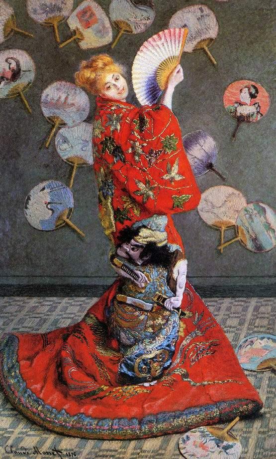 kimono-monet