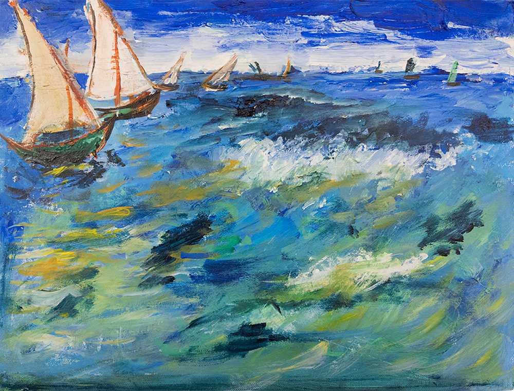 novusart-studio-louis-hampton-boats-at-sea-after-van-gogh